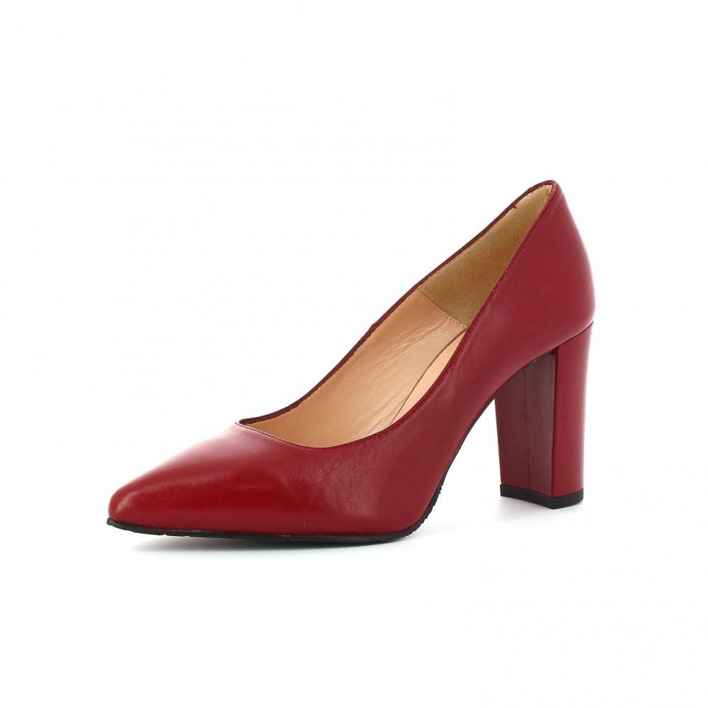 Zapato Tacón Nappa Hermes