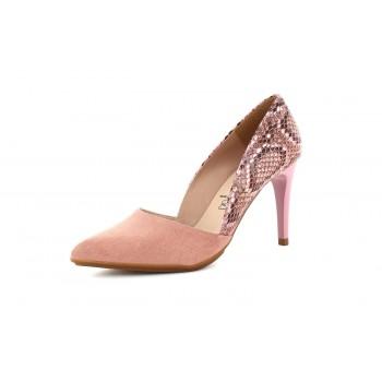 Zapato Tacón Dragon Pink