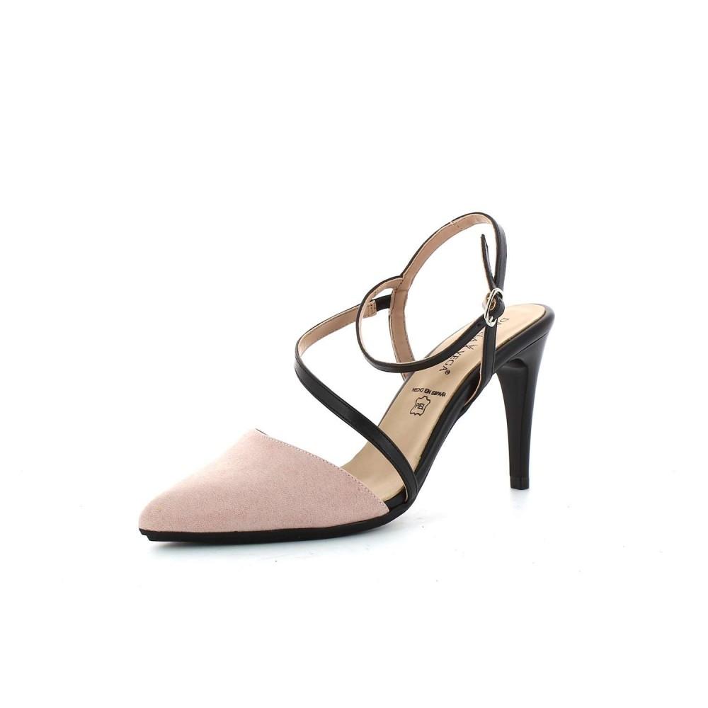 Zapato Tacón Napa Maquillaje