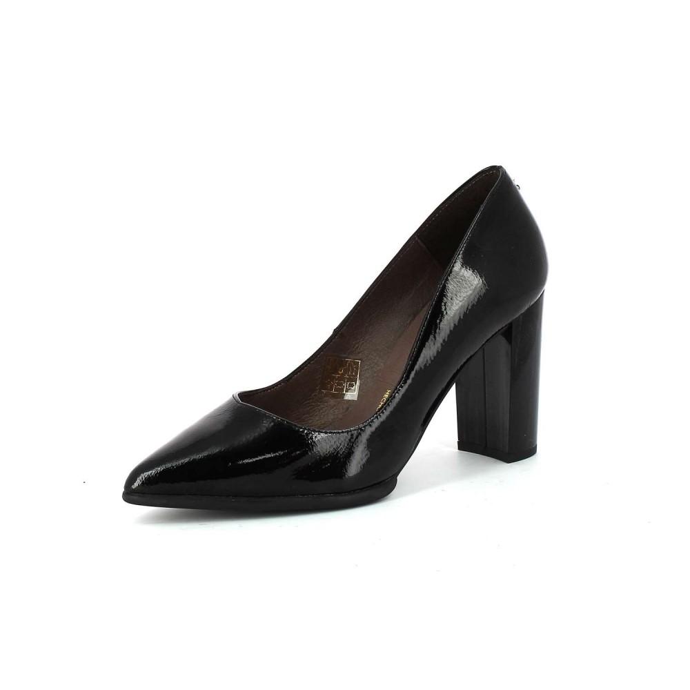 Patricia Miller Zapatos de Tacón Charol Negro