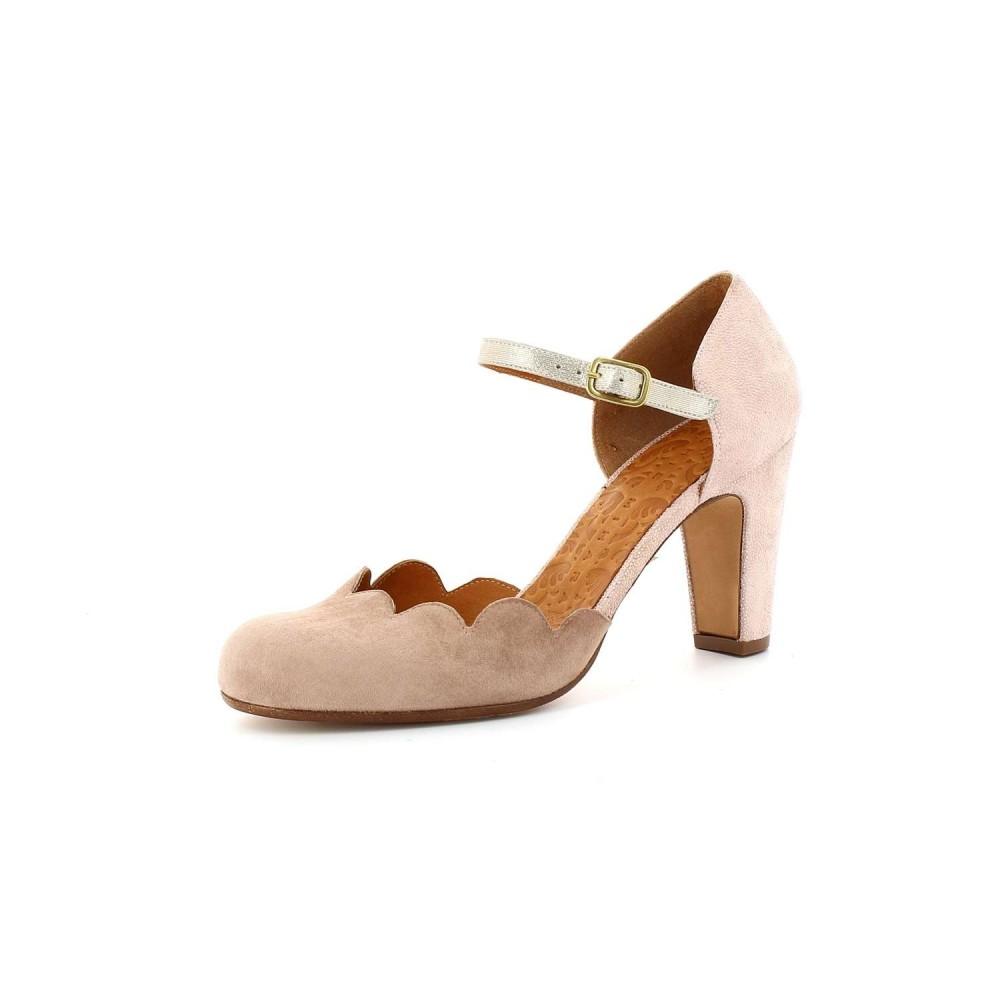 Zapato Tacón Queres Nude