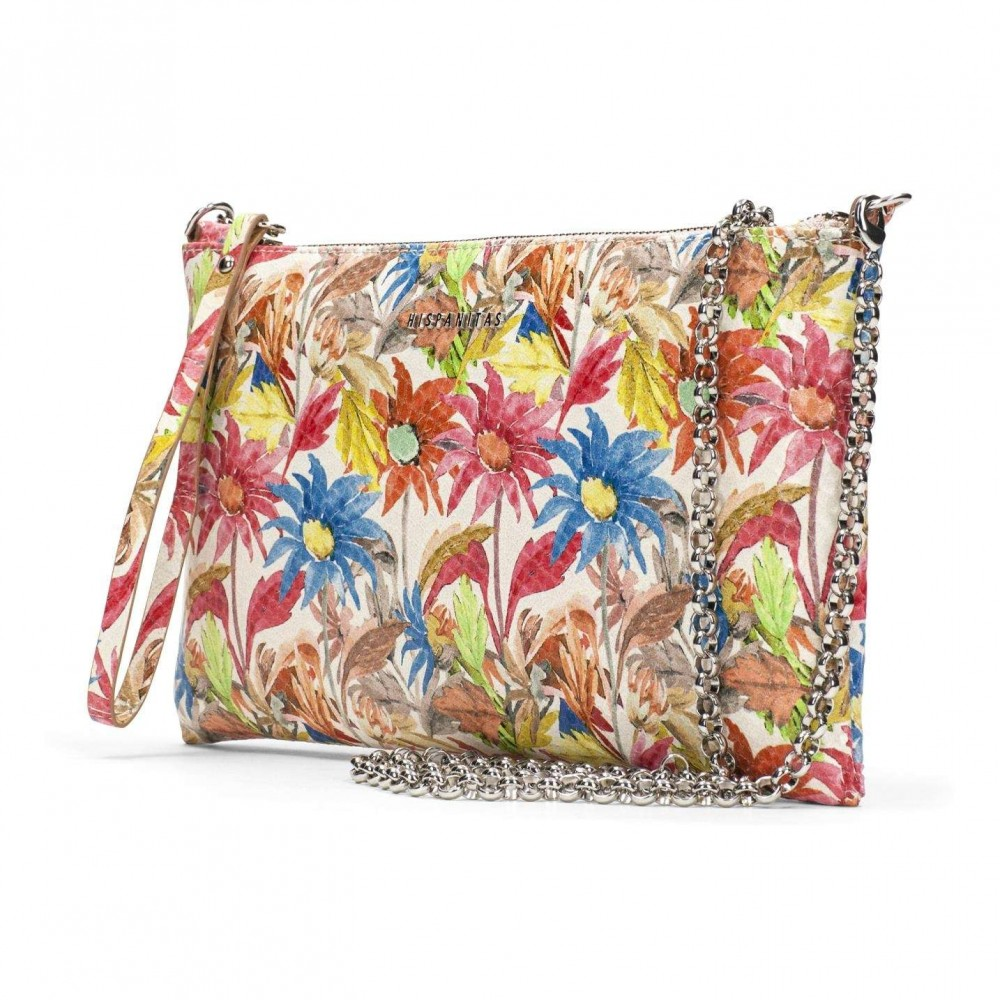 Bolso Clutch Multi-Coral