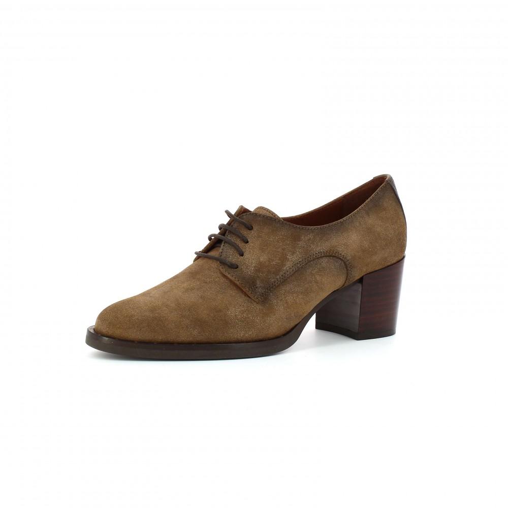 Zapatos tacón abotinado Dakota