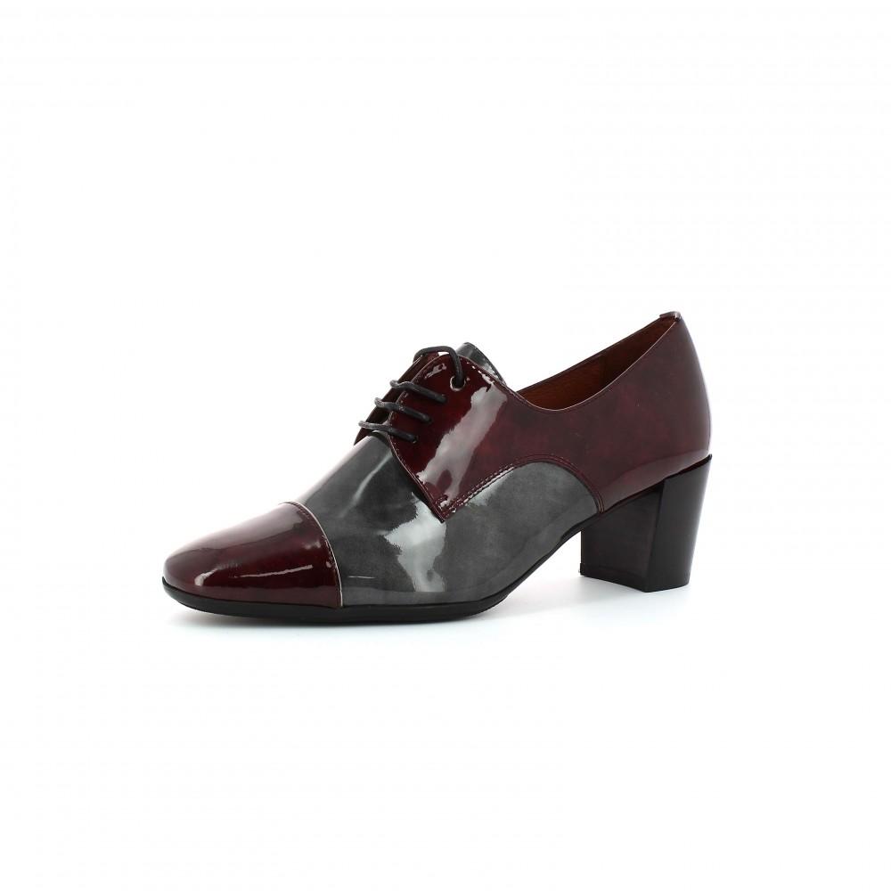Zapatos de tacón abotinado Kate