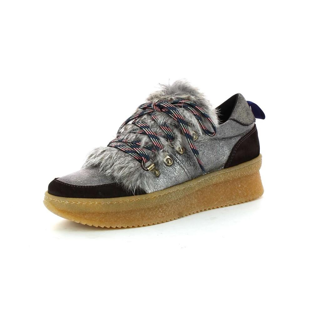 Kanna Sneakers Montañera Negro