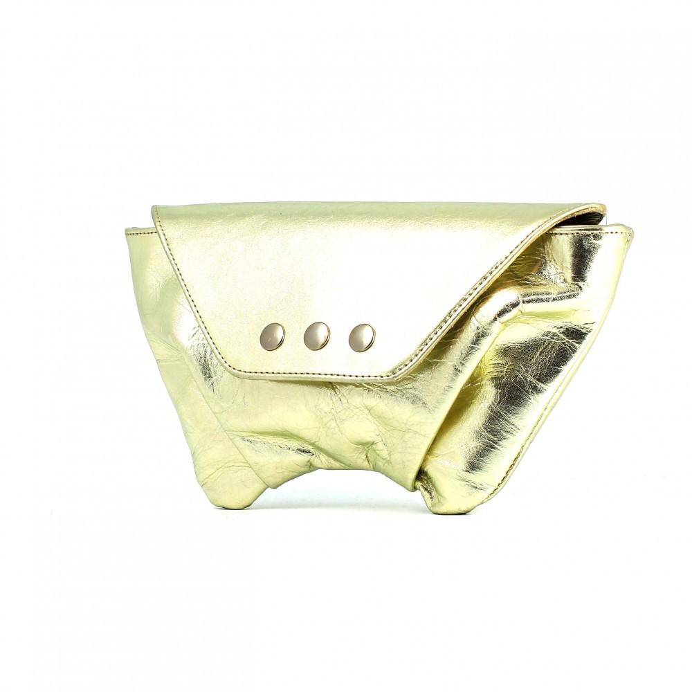 Bolso Trapezio XS - Oro