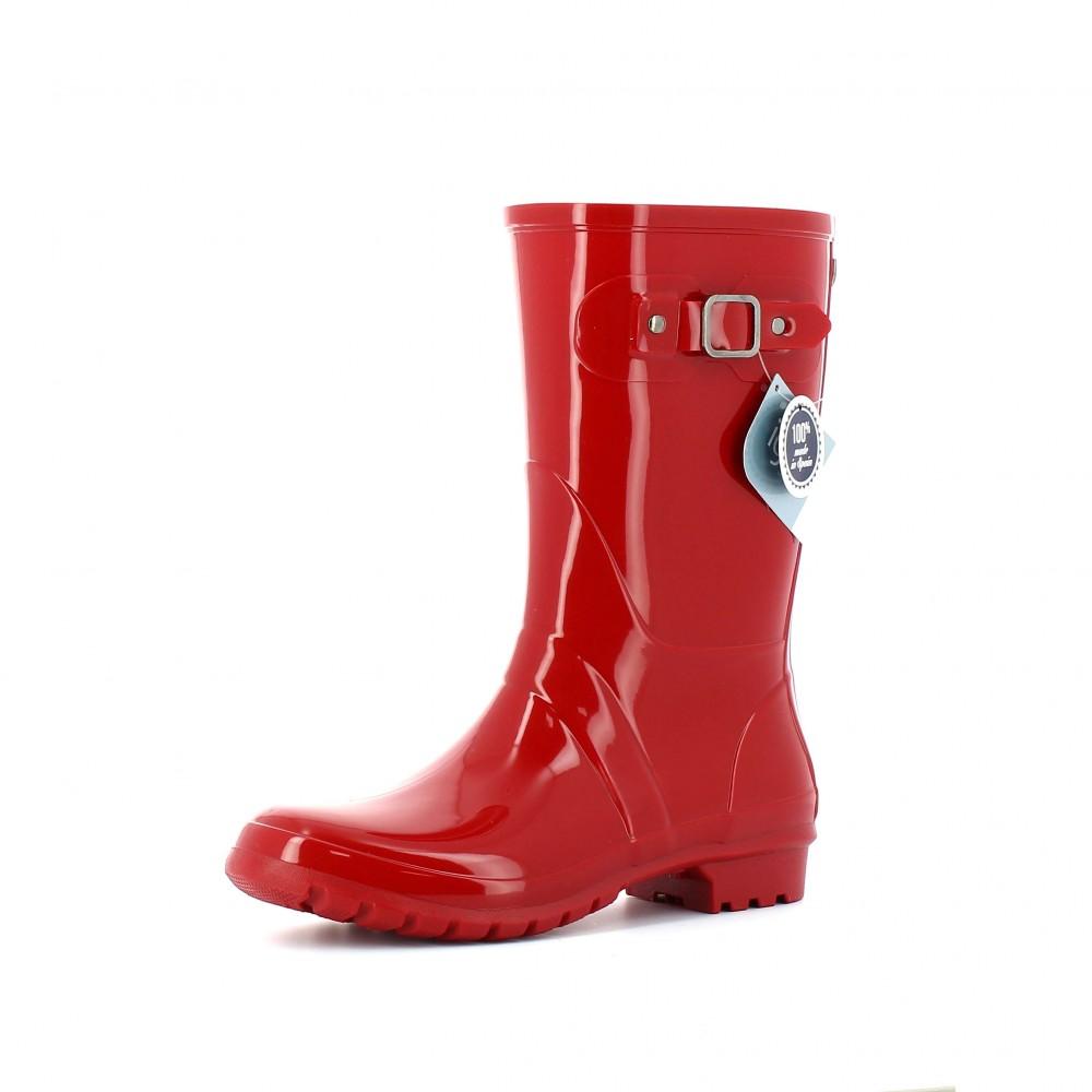 Botas de agua mujer Igor Mini Glow Rojo