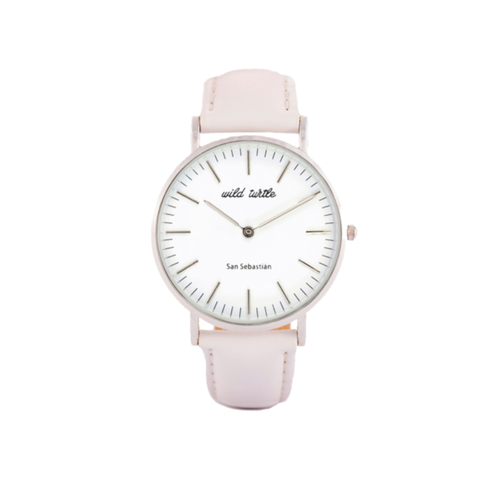 Wild Turtle Reloj Silver Gris