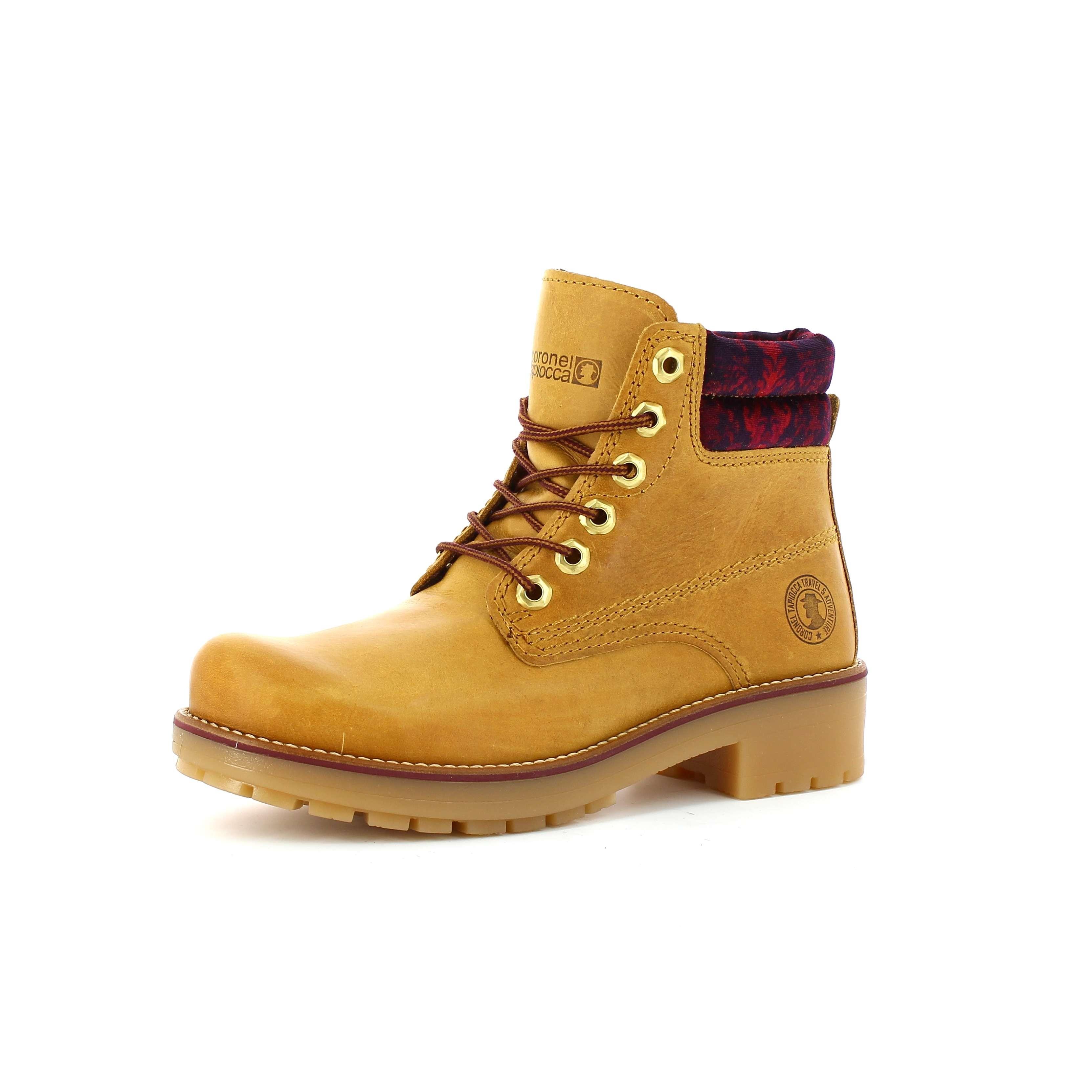Zapatos Voltagee Coronel Tapiocca Bota Mujer Mostaza Online YwxESOIqO