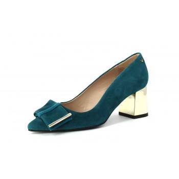 Martinelli Zapato Tacón Esla Verde