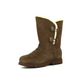 Bearpaw Botas Serraje Marron Wildwood