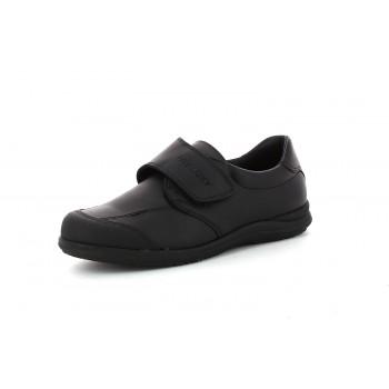 Pablosky Zapatos Colegial Negro Velcro