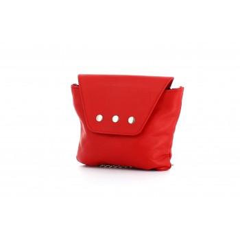 Bolso Trapezio Mini Rojo
