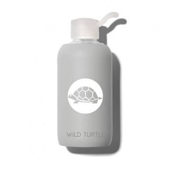 Wild Turtle Botella Cristal Fog Gris