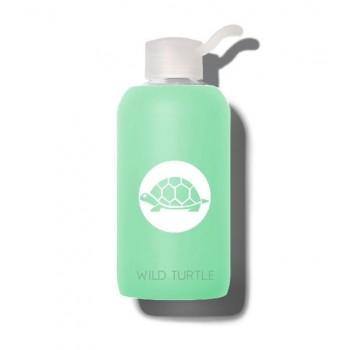 Wild Turtle Botella Cristal Frozen Verde