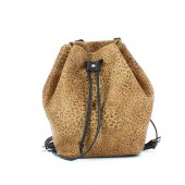 Bolso Spiky Backpack Leopardo