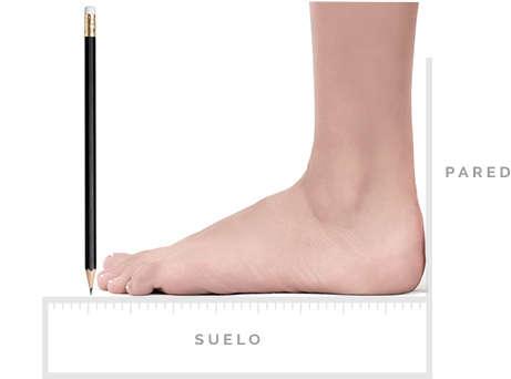 Cómo medir tu pie